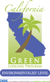 California Green Lodging Program - Environmentalist Level